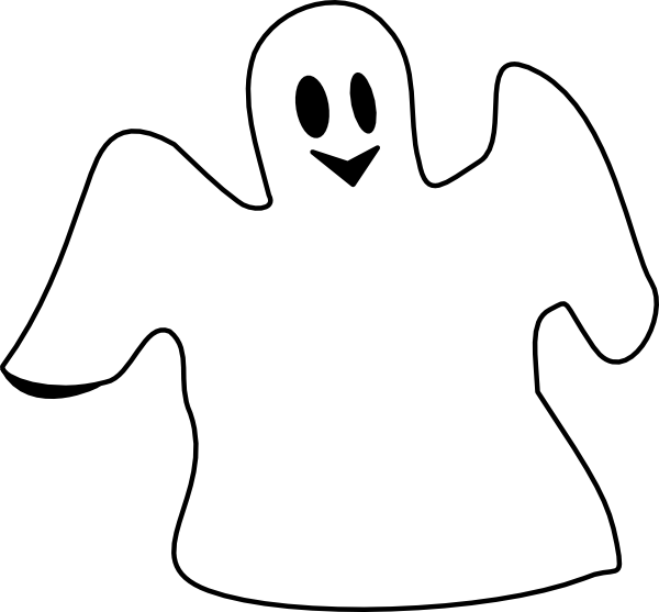 Ghostly clipart fears Ghost Art Free Ghost Images