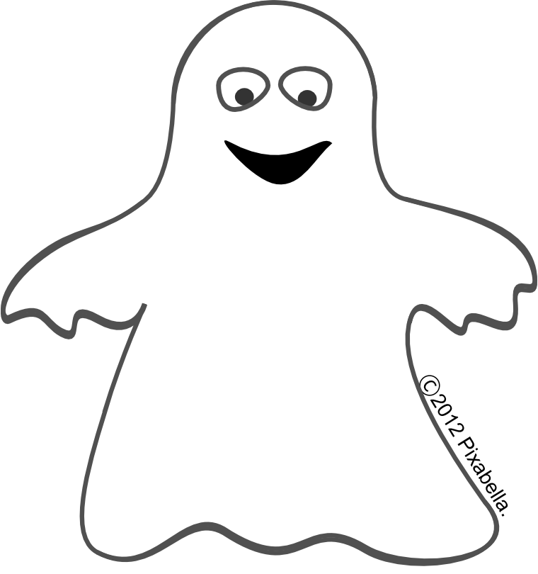 White clipart Clipart ghost Cute free Ghost