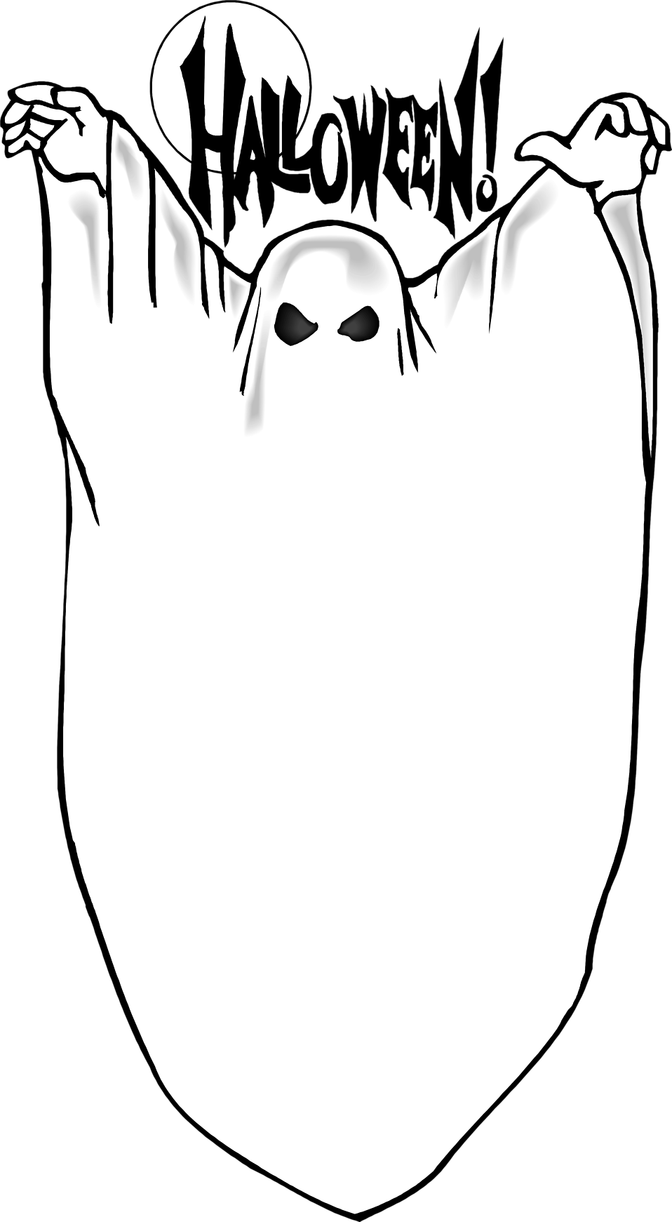 Ghostly clipart blank Text Illustration ghost Free a