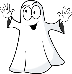 Ghostly clipart clear background No background Ghost clipart Thumbtack