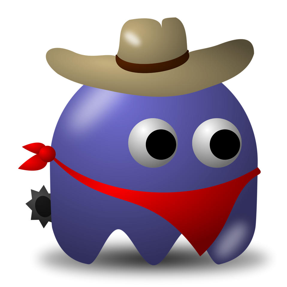 Cowboy clipart ghost Arcade Stock  Ghost Illustration