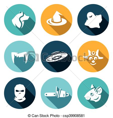 Ghostly clipart fears Vector Fear Vector Werewolf UFO