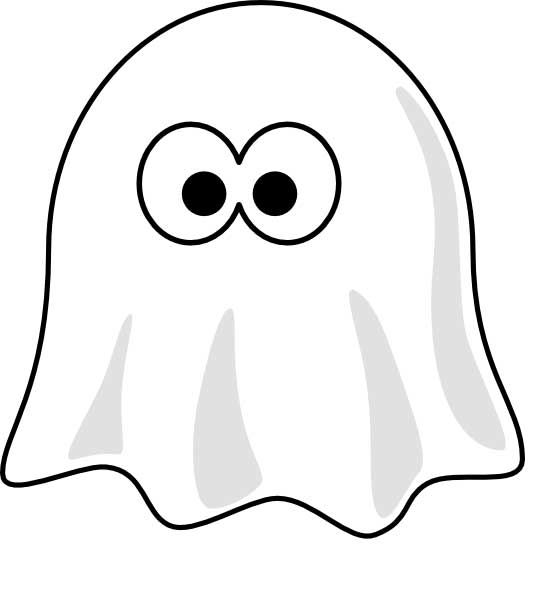 Ghostly clipart kid Ghost Cute collection clipart Clipart