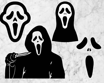 Ghostly clipart minion Scream Horror Despicable Svg svg