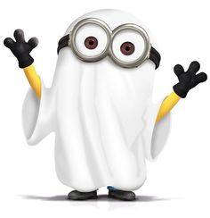Ghostly clipart minion Halloween n :) Pinterest Minion