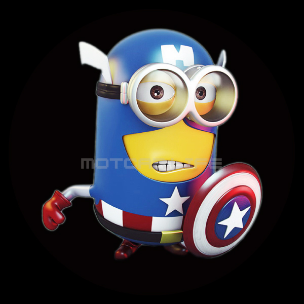 Ghostly clipart minion Door Captain Projector Spotlight Minions