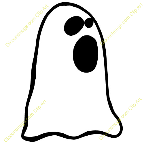 Ghostly clipart mouth #1