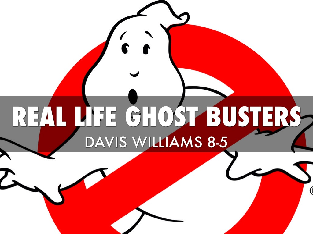 Ghostly clipart small BUSTERS REAL Busters Davis Williams