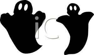 Ghostly clipart silhouette Ghosts of Free Clipart Clipart