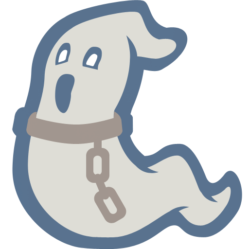 Ghostly clipart simple Ghost Free in & Chains