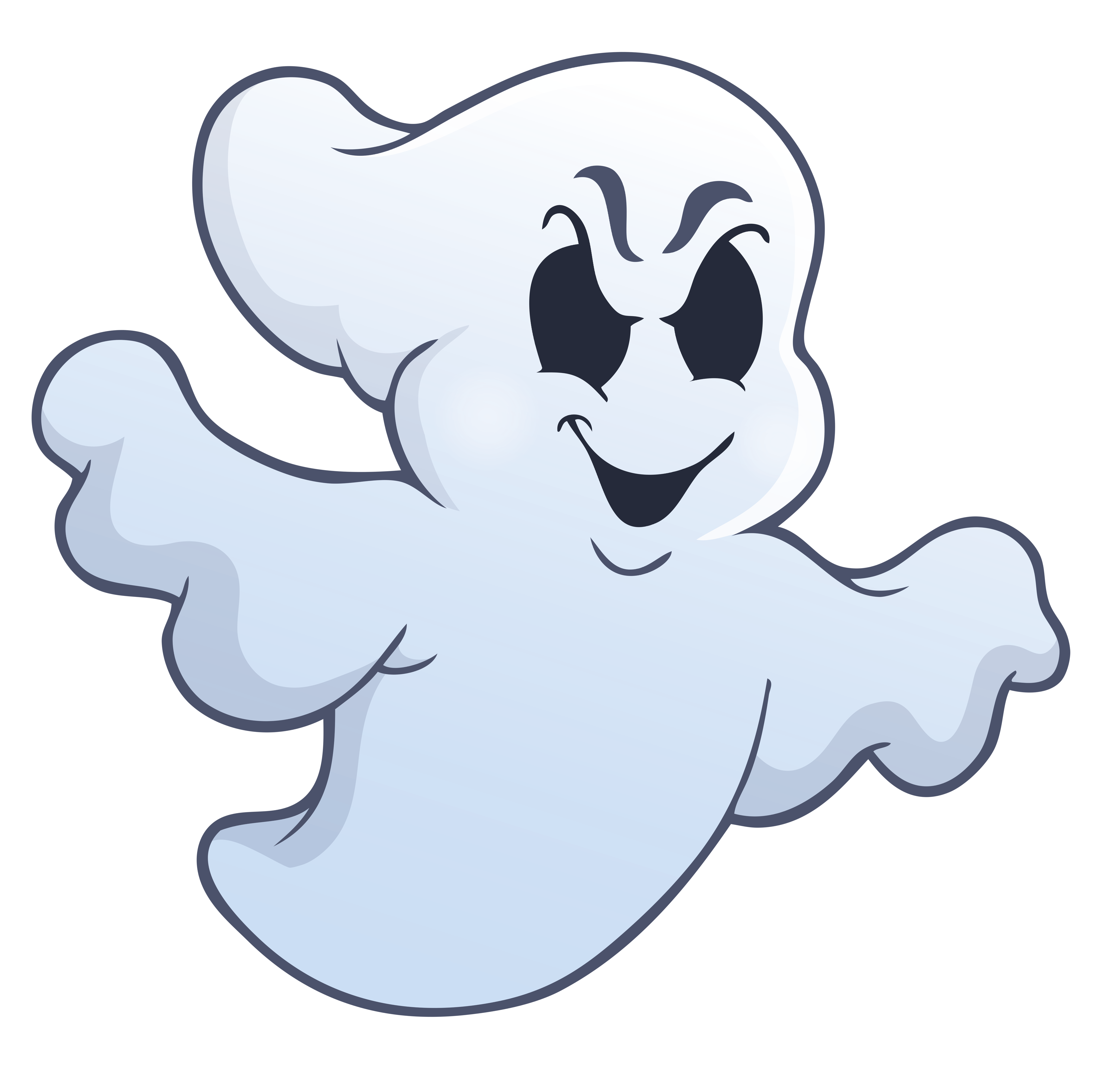 Ghostly clipart transparent View PNG Evil full Yopriceville