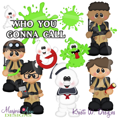Ghostbusters clipart Clipart Marjorie Files Cutting Files
