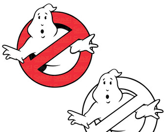 Haunted clipart ghostbuster Use Commercial Etsy party Personal