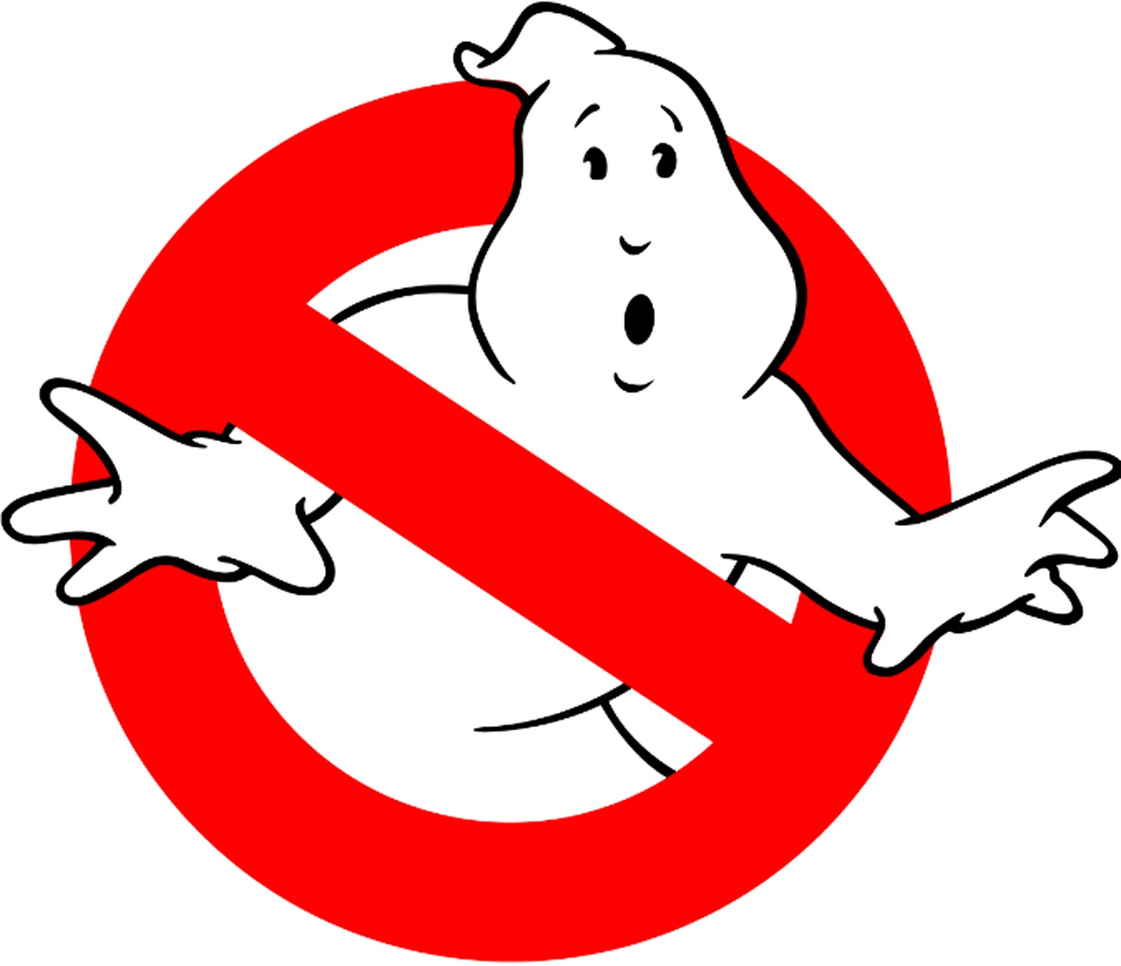 Ghostly clipart ghostbuster : Busters Outline  With