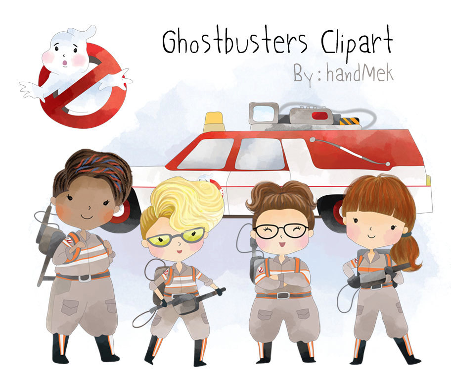 Ghostbusters clipart Character Ghostbusters file 300 dpi