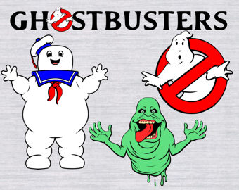 Ghostbusters clipart Puft Slimer clipart cutting Etsy