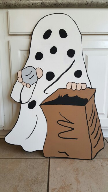 Ghostly clipart charlie brown Coloring It's Ghost Snoopy Brown