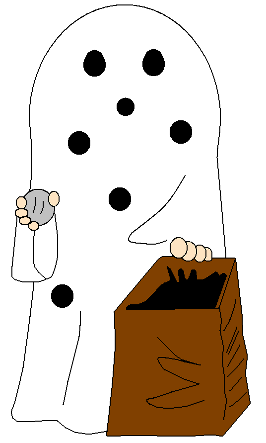 Ghostly clipart charlie brown Charlie Ghost Badboylol Costume by