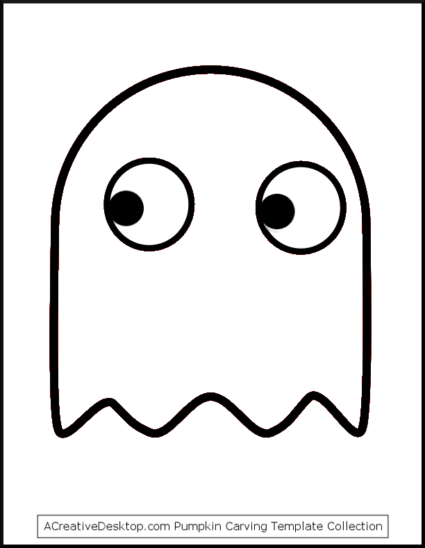 Ghostly clipart easy Easy carving templates templates patterns