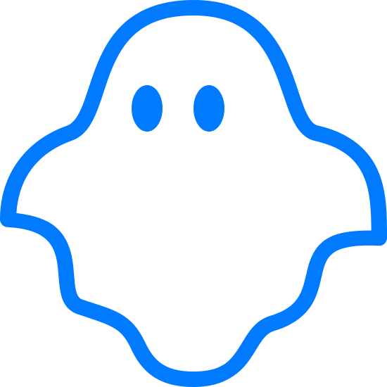 Ghostly clipart eerie SVG and Icons in Free