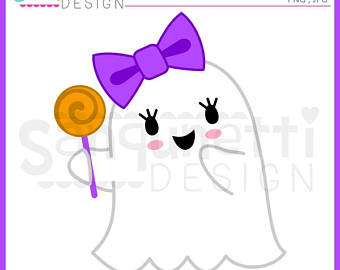 Ghostly clipart fall #1
