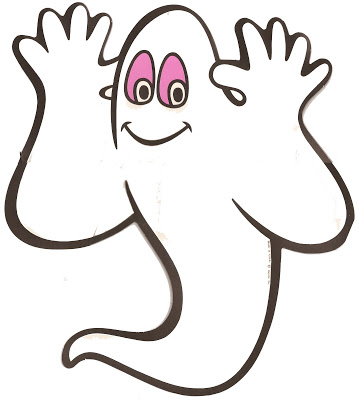Ghostly clipart not #6