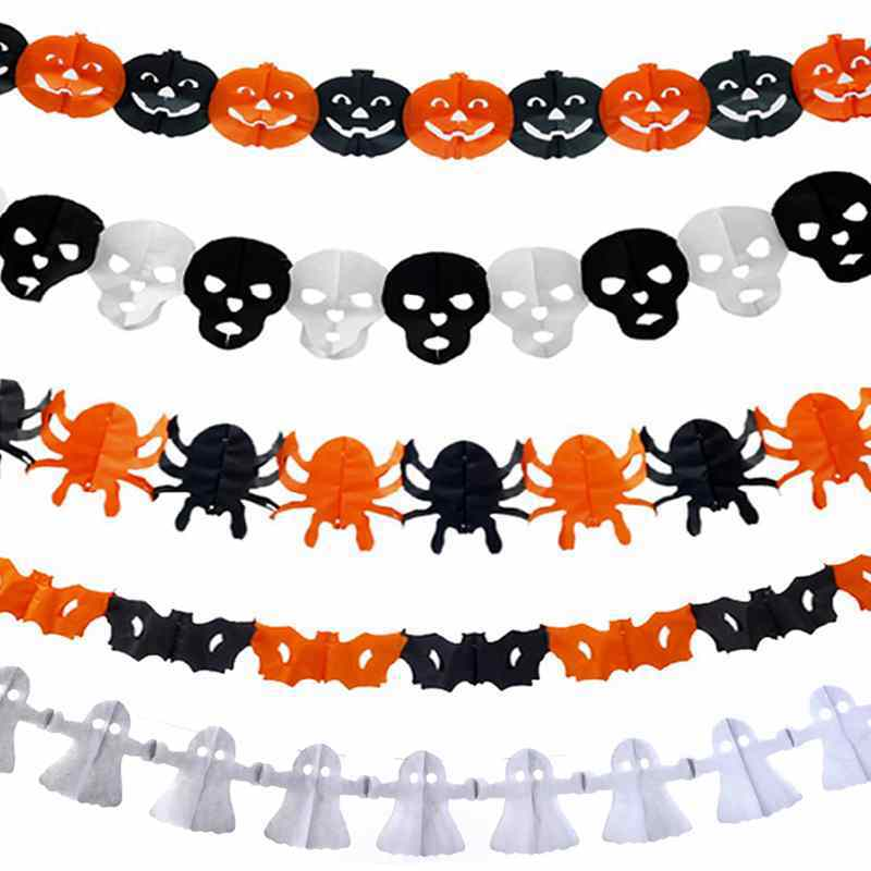 Ghostly clipart paper Paper Chain Cheap Decor Funny