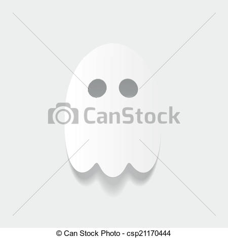 Ghostly clipart realistic  ghost element: design element: