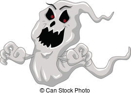 Ghostly clipart vector #6