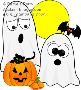 Ghostly clipart yellow Images halloween photography cartoon clipart