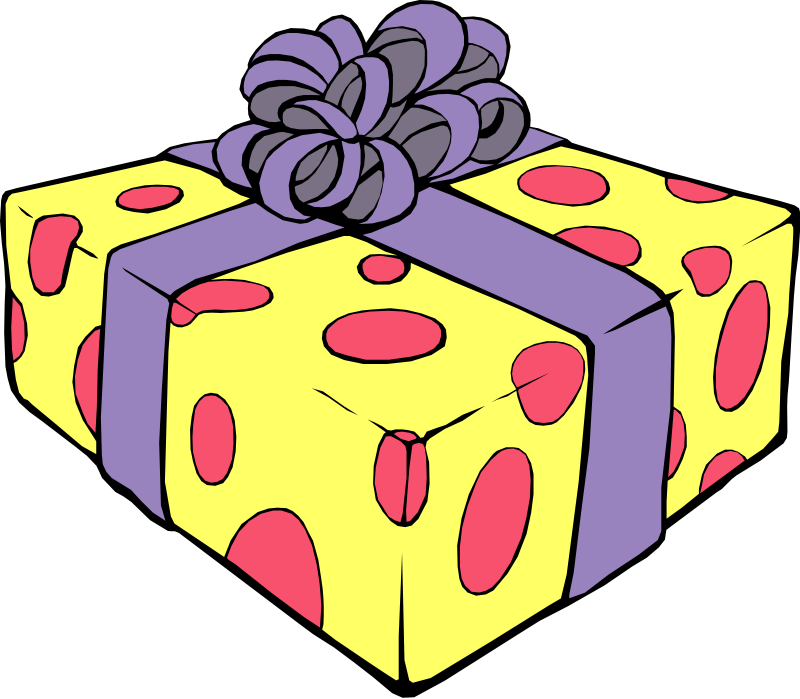 Gift clipart Box Gift Panda Clipart Free