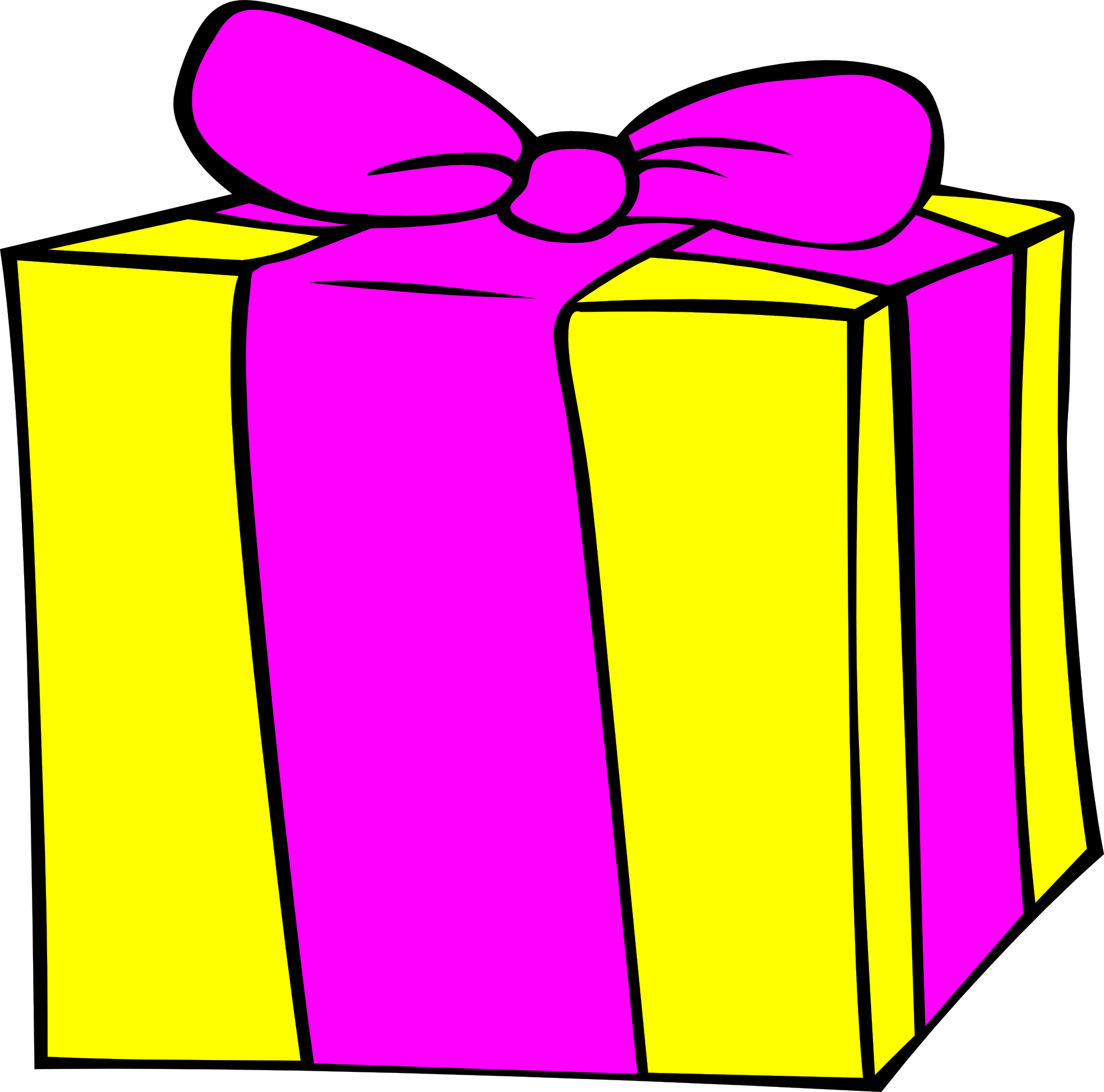 Gift clipart animated #6