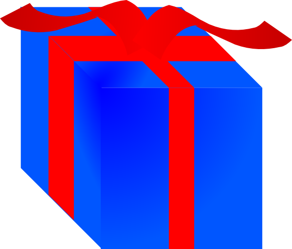 Gift clipart animated #8