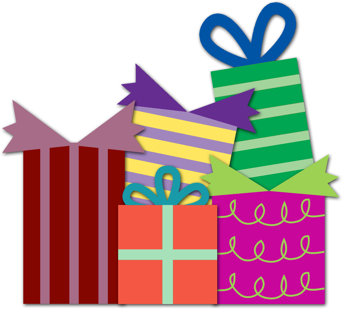 Gift clipart birthday celebration #11