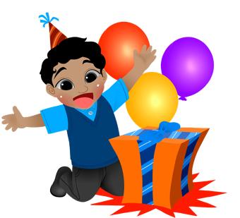Gift clipart birthday celebration #8