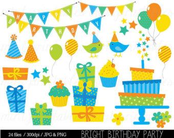 Gift clipart birthday celebration #14