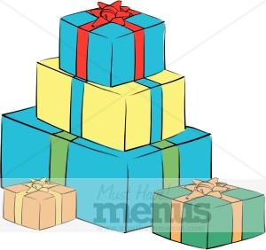 Gift clipart birthday celebration #12