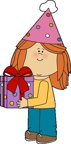 Gift clipart birthday celebration #4