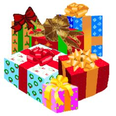 Gift clipart bunch #2