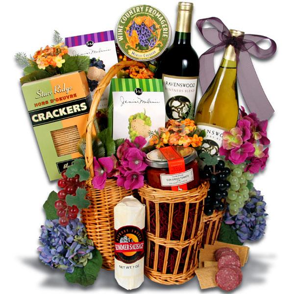 Wine clipart gift hamper Basket basket clipart clipart Gift