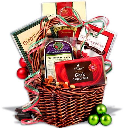 Wine clipart gift hamper Gift basket WikiClipArt art christmas