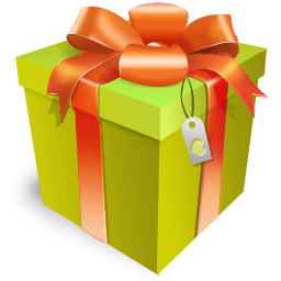 Larger clipart gift box Format: Image Gift Ribbon ClipArt