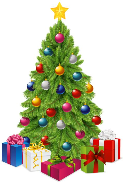 Christmas Tree clipart clear background Christmas Picture Boxes best Gift