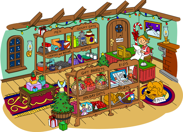 Gift clipart gift shop #8