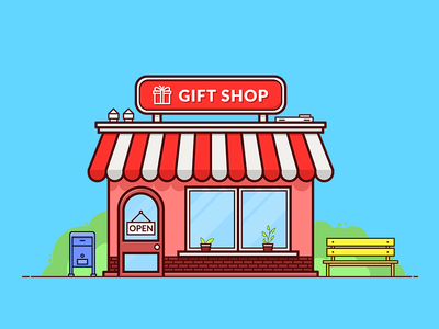 Gift clipart gift shop #4