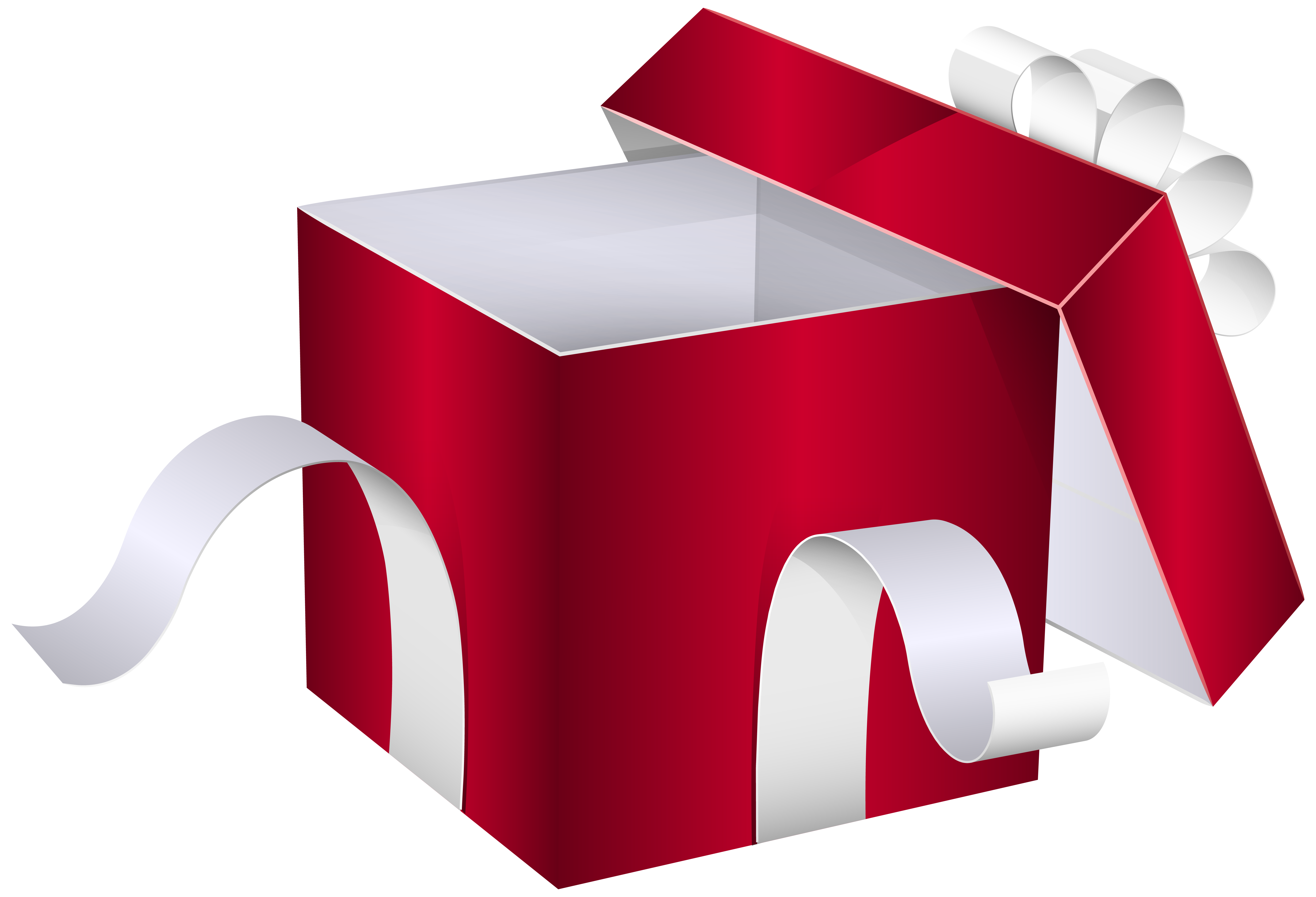 Box clipart opened Red High full PNG Clipart