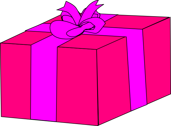 Larger clipart gift box Download clip Clker as: Box
