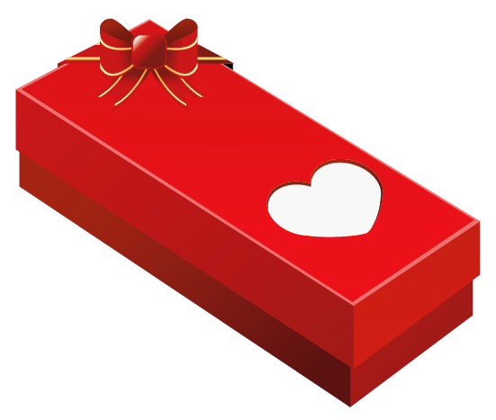 Box clipart valentine's day Valentine Heart  PNG Gift