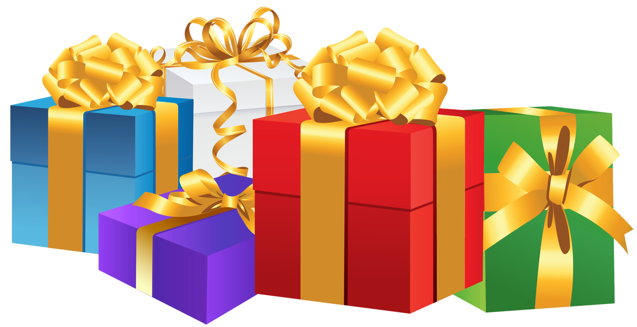 Larger clipart gift box Clip  Gifts Present xmas
