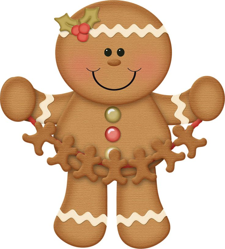 Gingerbread clipart decoration Ginger (gingerbread) 185 images best